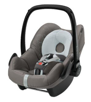 Maxi Cosi Babyschale Pebble 2011, Steel Grey - Großbild