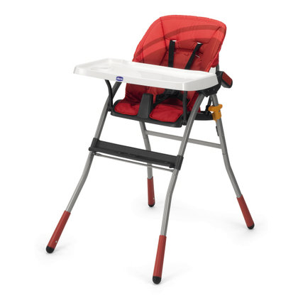 Chicco High Chair Jazzy Red Wave 2013 - large image