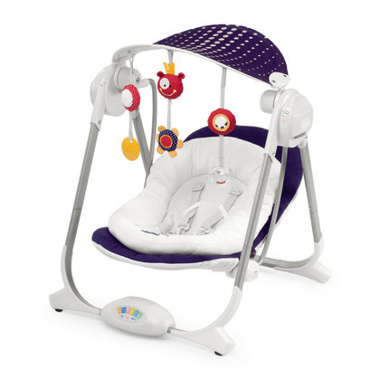 Chicco Babyschaukel Polly Swing Purple Rain 2015 - Großbild