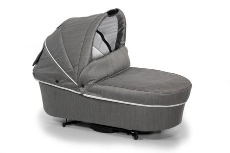 Hartan Folding carrycot - The Hartan fold carrycot has a compact fold and is available in the collection 2012