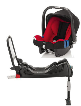 Römer Baby Safe Plus SHR II Trendline 2012 incl. ISOFIX Base Lisa - большое изображение