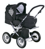 Knorr Nizza Air pushchair 2012 930-black white - большое изображение 2