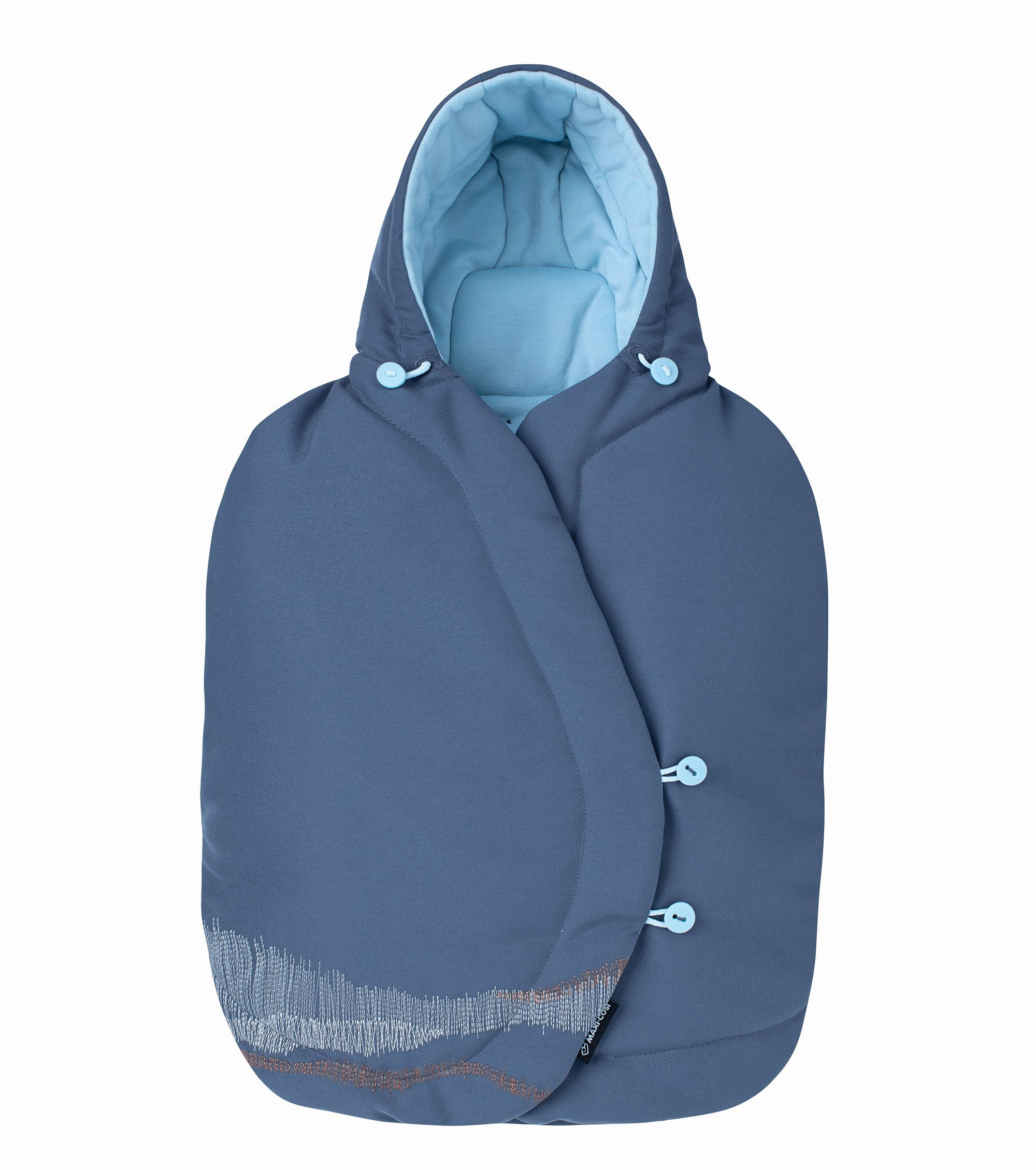 maxi cosi fu sack f r babyschale 2018 frequency blue online kaufen bei kidsroom kindersitze. Black Bedroom Furniture Sets. Home Design Ideas