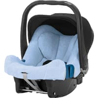 Britax Römer Summer cover Baby Safe Plus & SHR II, light blue - The 100 % cotton, light towelling cover helps keep your darling comfortable on warm days