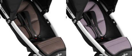 BABYZEN by RECARO Adapter for Maxi-Cosi Pebble/ Cabriofix Brown - Sea Fog 2012 - large image