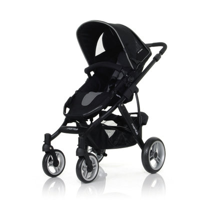 ABC Design Mamba incl. sport seat and hard carrycot 2012 anthracite-black - 大图像