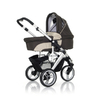 ABC Design Cobra incl. sport seat and hard carrycot 2012 sand-dark brown - 大图像 2