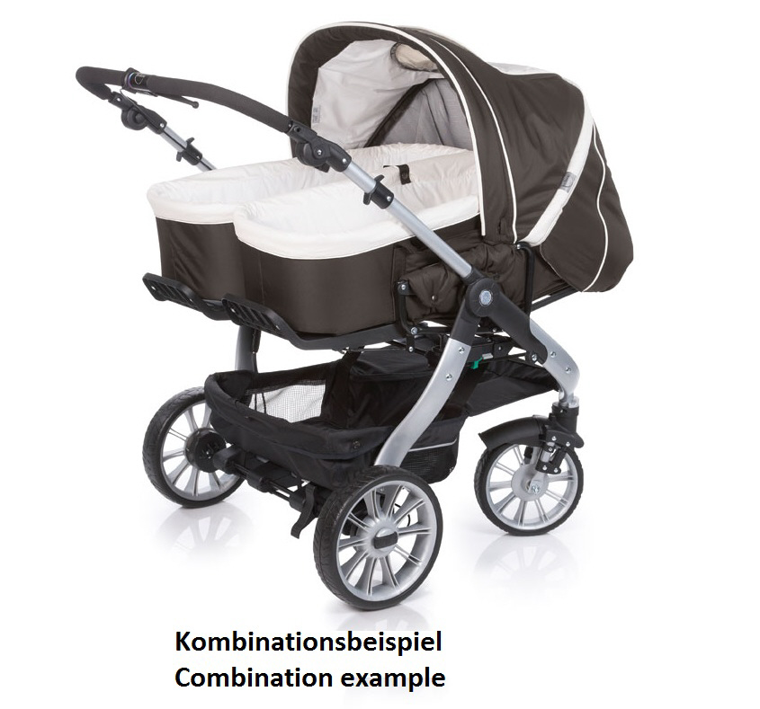 teutonia twin and sibling stroller team cosmo buy online. Black Bedroom Furniture Sets. Home Design Ideas