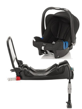 Römer Baby-Safe Plus SHR II Classicline 2012 inkl. Isofix Base Billy - Großbild