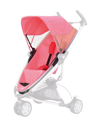 Quinny Zapp Xtra Seat 2012 Pink blush - large image