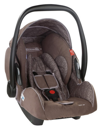 STM Storchenmühle Twin 0+ Babyschale 2012 chocco - большое изображение