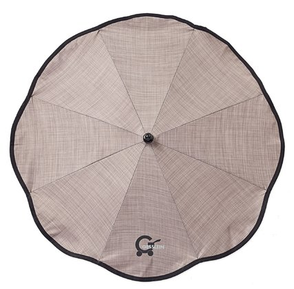 Gesslein Parasol Basic - The Gesslein parasol provides your darling for the sun and is available in all Designs of the collection 2012