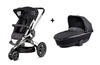 Quinny BUZZ 3 Kinderwagen + Dreami Rocking Black 2014 - Großbild 1