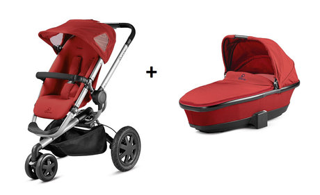 Quinny BUZZ 3 Kinderwagen + Dreami Red Rumour 2014 - Großbild