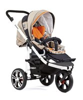Gesslein F3 Air+ stroller - The Gesslein F3 stroller convinces because of its maneuverability and its perfectly shaped frame.