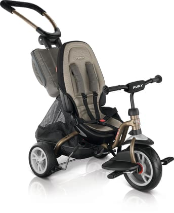 PUKY Tricycle CAT S6 Ceety - The PUKY tricycles CAT S6 Ceety is for your child from about one and a half years and is in two colors available