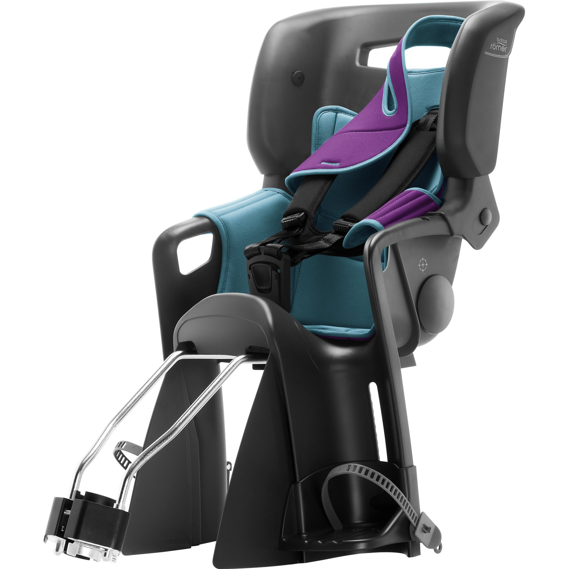 britax r mer fahrradsitz jockey 2 comfort 2019 turquoise. Black Bedroom Furniture Sets. Home Design Ideas