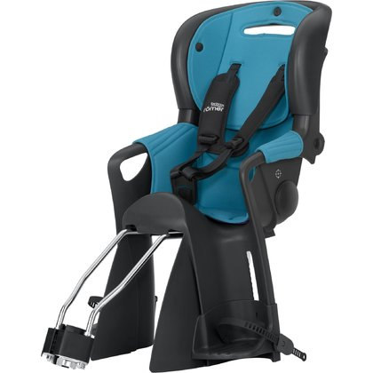 Römer Child bike seat Jockey Comfort - Britax Römer bicycle seat Jockey Comfort – Thanks to the adjustable head rest and the comfort belting system, your little one is able to enjoy the best possible trips with the bicycle..