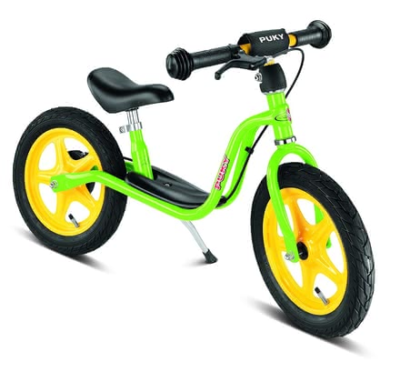 PUKY Balance bike LR 1L BR - The Puky impeller is equipped with a braking system suitable for children and is suitable for your child abaout a body size from 90,0 cm or from the age of three