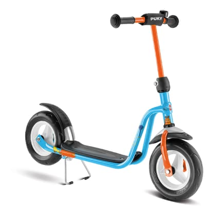"PUKY Scooter R 03 - * The Puky Scooter R 03 is equipped with a ""Kick-brake"" and a Non-Slip platform and is suitable for your darling about a body size from 95 cm"
