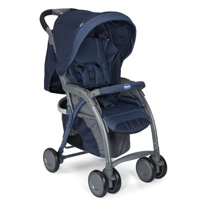 Chicco Simplicity Plus Top pushchair Blue Passion 2017 - large image