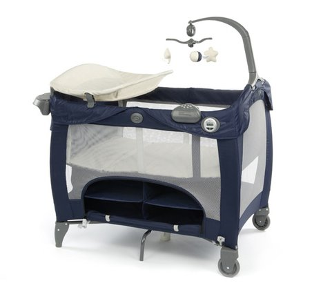 Graco travel bed Contour Prestige Peacoat 2014 - large image