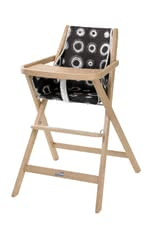 Geuther Highchair Traveler -  The Geuther highchair Traveller is foldable, stable and with a comfortable seat equipped