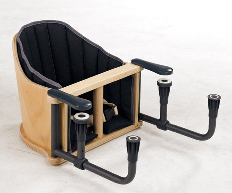 Geuther Hook-on chair Pogo Schwarz 2015 - large image
