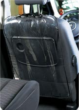 Reer Car backrest protector, transparent - The Seat protection protects the back side of your car seat