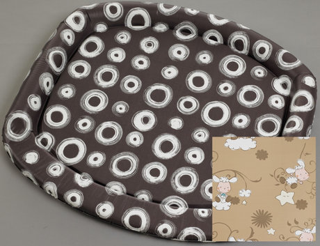 Geuther diaper changing pad (85 x 76 cm) Schäfchen_ braun 2012 - large image