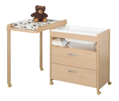 Geuther bath–diaper changing unit Ella Natur 2014 - large image