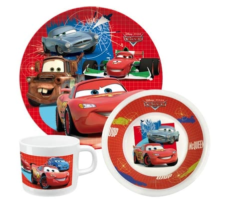 Cars Breakfast-Set 2014 - Image de grande taille