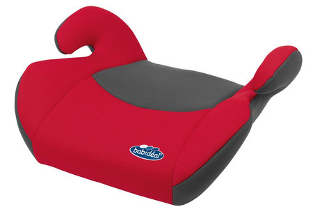 Babideal Booster car seat Red_Grey 2013 - large image