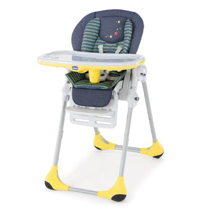 Chicco Highchair Polly 2 in 1 Denim 2016 - large image