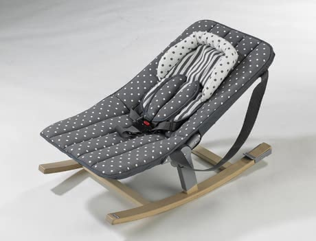 Geuther Baby bouncer Rocco - The Geuther baby bouncer is just brilliant. The high-class allrounder is comfortable and functional at the same time.