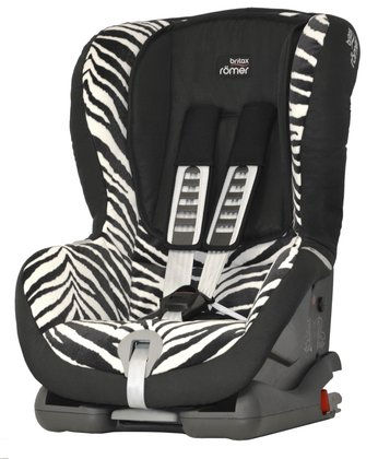 Britax Römer Kindersitz Duo Plus Smart Zebra 2016 - Großbild
