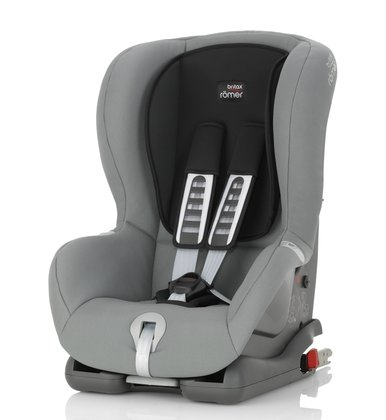 Britax Römer Child car seat Duo Plus -  The Römer Duo Plus can be secured with the ISOFIX system or a 3-point seat belt in the vehicle  It provides maximum safety and comfort