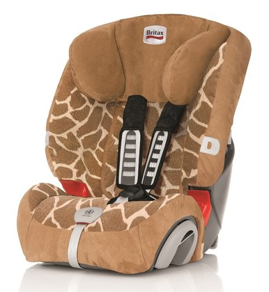 Britax Römer Kindersitz Evolva 1-2-3 Plus Highline -  Der Britax RÖMER Evolva 1-2-3 Plus, Design Big Giraffe bietet Ihrem Schatz hohen Komfort, optimale Sicherheit und eine lange Nutzungsdauer von ca. 11 Jahren