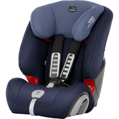 Britax Römer Kindersitz Evolva 1-2-3 Plus Moonlight Blue 2019 - Großbild