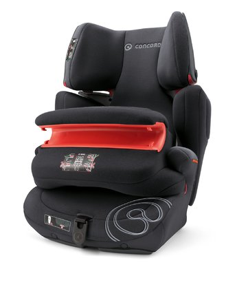 Concord Child car seat Transformer PRO - The Concord Transformer Pro is a car seat in Group I/II/III adjust to size of the child and cover an age range between 9 months and 12 years