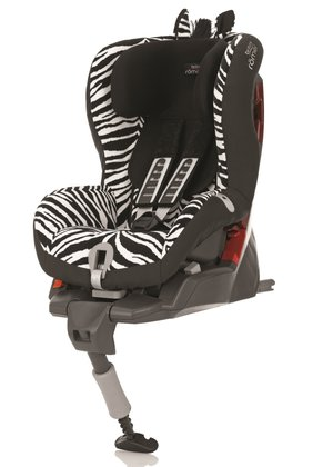 Детское автокресло Britax Römer Safefix Plus Highline Smart Zebra 2015 - большое изображение