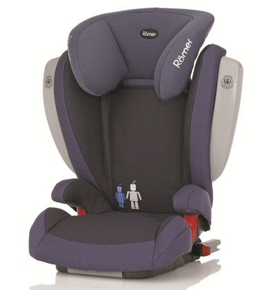 Römer car seat Kidfix SICT Trendline Crown Blue 2014 - большое изображение