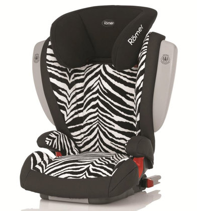 Römer car seat Kidfix SICT Highline Smart Zebra 2014 - большое изображение