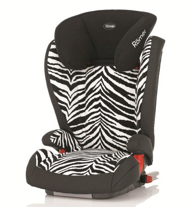 Römer car seat Kidfix Highline Smart Zebra 2014 - большое изображение
