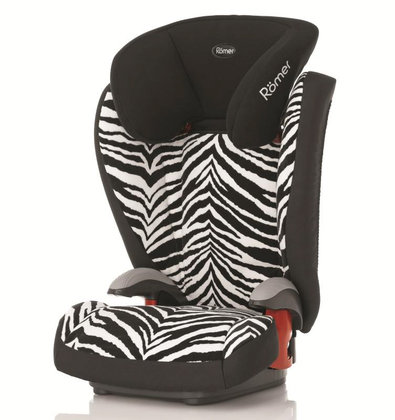Römer car seat Kid plus Highline Smart Zebra 2014 - Imagen grande