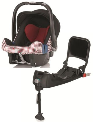 Britax Römer Baby-Safe Plus SHR II inkl. Isofix Base Magic Dots 2015 - Großbild