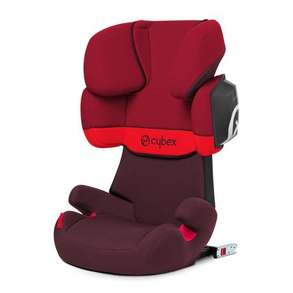 Cybex Kindersitz Solution X2-Fix Rumba Red - red 2017 - Großbild
