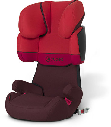 Детское автокресло Cybex Solution X-Fix Chilli Pepper-red 2013 - большое изображение
