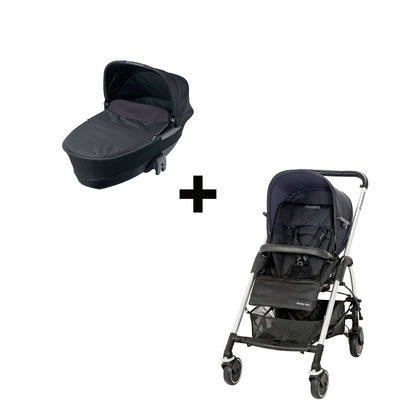 Maxi Cosi Streety plus Set Total Black 2013 - большое изображение