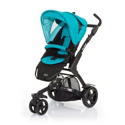 ABC Design 3-Tec incl. pushchair attachment and hard carrycot coral 2015 - large image